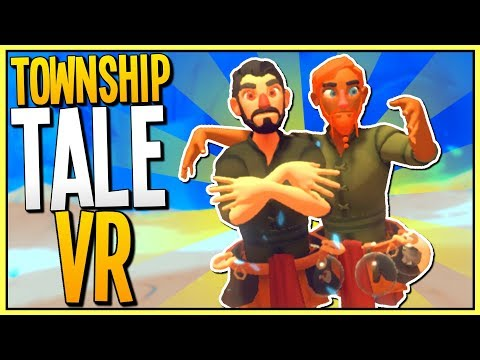 GETTING RICH BY MINING GOLD IN MULTIPLAYER VR - A Township Tale Gameplay - VR HTC Vive