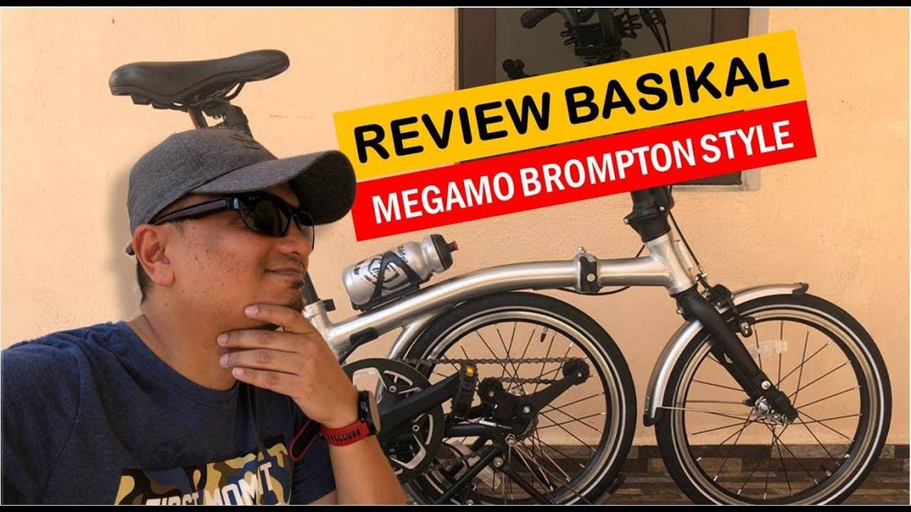 FOLDING BIKE REVIEW Megamo Brompton Style