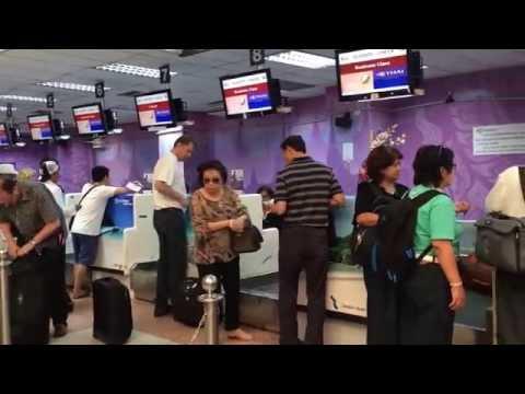 รีวิวบรรยากาศสนามบินนานาชาติภูเก็ต- การเดินทางภูเก็ต Phuket Airport