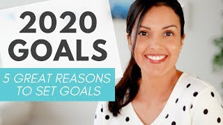 GOAL SETTING (why you SHOULD set goals in 2020! ⭐)