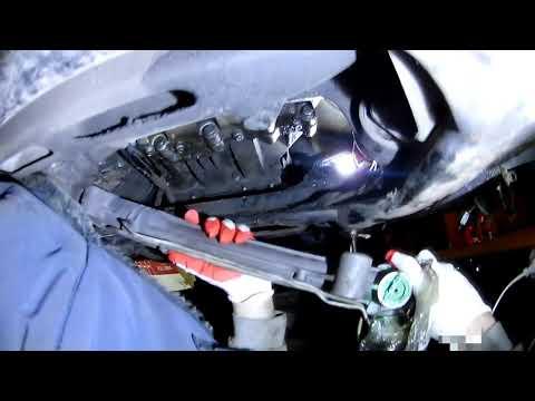 VW Touareg замена рулевой рейки своими руками