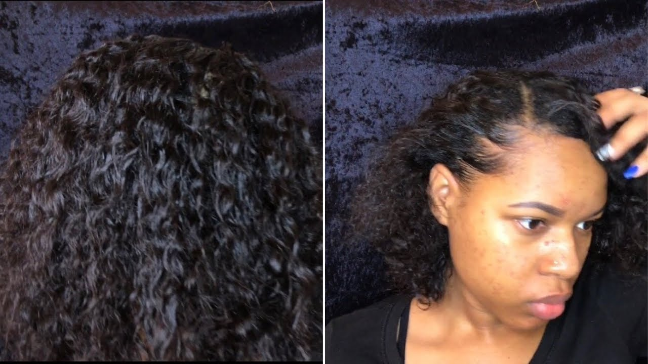 twist relaxed hair tutorial