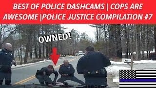 👮🏼🚔BEST OF POLICE DASHCAMS | COPS ARE AWESOME | POLICE JUSTICE COMPILATION #7