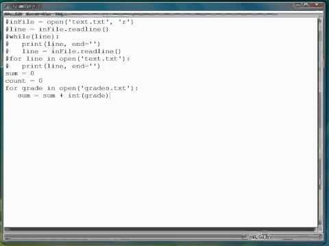 Python Programming Tutorial | For Loops With Files