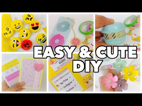 craft ideas easy to make diy school supplies 6 easy diy crafts for back to school 6120