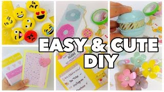 Diy school supplies! in this back to video i show you 6 awesome supplies crafts. these are unique, creative,cheap a...