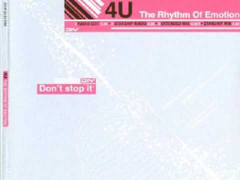 4U - The Rhythm Of Emotion (Extended Mix)