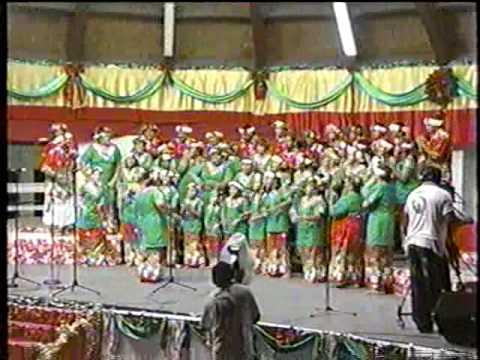 Xmas Greetings from Tuvalu-'Tenei, tenei te tamaliki'