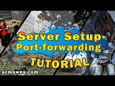 How To Make A FREE Online Video Game Server | Port-Forwarding & Server Hosting
