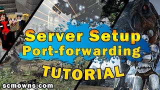 How To Make a FREE Online Video Game Server | Port-Forwarding & Server Hosting(In this video tutorial I show you the most important fundamental step for creating a video game multiplayer server; which is port-forwarding. In order to properly ..., 2016-11-16T21:00:02.000Z)