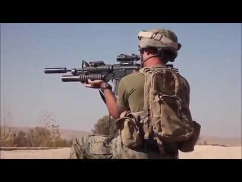 Marine sniper Kills Taliban Live footage
