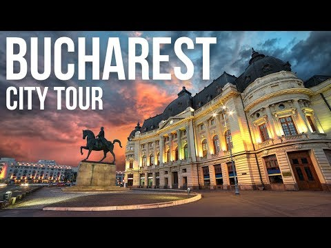Bucharest Romania City Tour | One Month Compilation