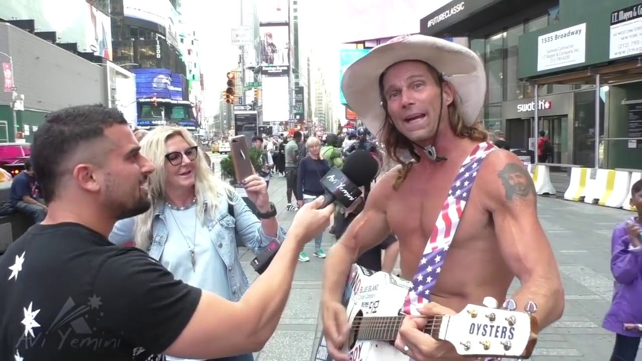 """EPIC naked cowboy Trump song  """"sounds like a good idea to me"""""""