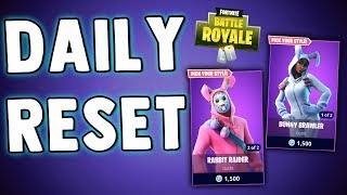 FORTNITE DAILY RESET - BRAND NEW SKINS OMG!! Fortnite Battle Royale Daily Skins & Items in Item Shop