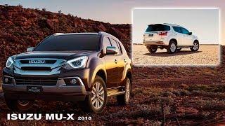 ISUZU MU-X Range - Intérieur et extérieur | Nouveau SUV Isuzu