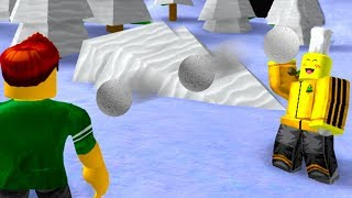 ROBLOX SNOW BALL FIGHTING SIMULATOR *CRAZY FUN*