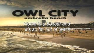 Owl City - Umbrella Beach (Lyrics)