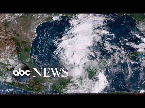 Gulf Coast states brace for Tropical Storm Harvey