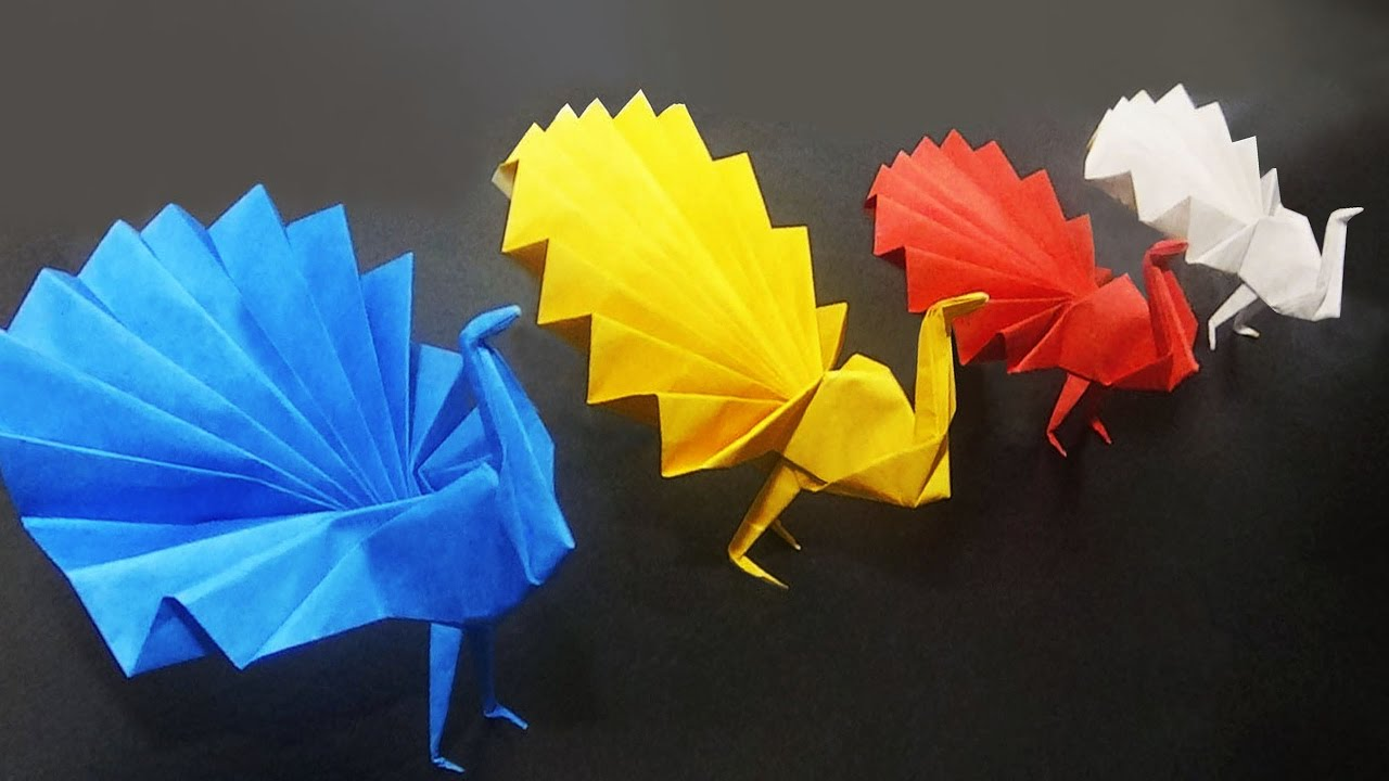 Peacock How To Make An Origami Peacock | Easy And Simple Steps |