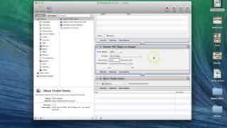 Converting Pdf Jpeg Or Other Image Formats Using Automator Mac