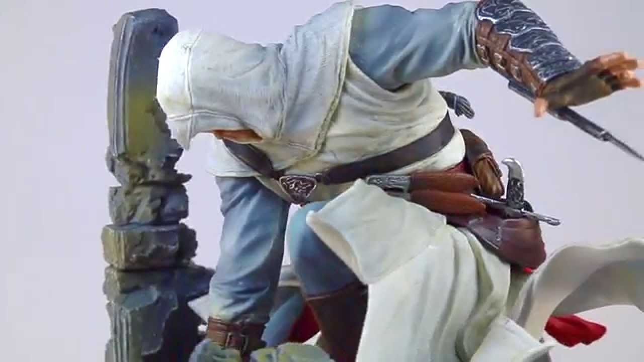 Assassins Creed Statue Altair [Game Legends] - YouTube