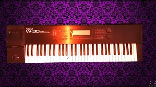 Roland W30 Workstation - Epic Tutorial - The Prodigy - Part 1 - Sampling & Truncate
