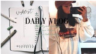 BULLET JOURNALING, NEUE HAARE & JONAS GEBURTSTAG ▹ Daily Vlog ♡
