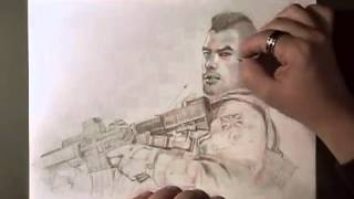 How to Draw #11: Soap from MW3