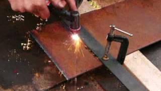 plasma cutting with cut40