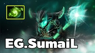 [Dota2] EG Sumail Pro Outworld Devourer Mid Ranked MMR Game [ Sumail Gameplay ]