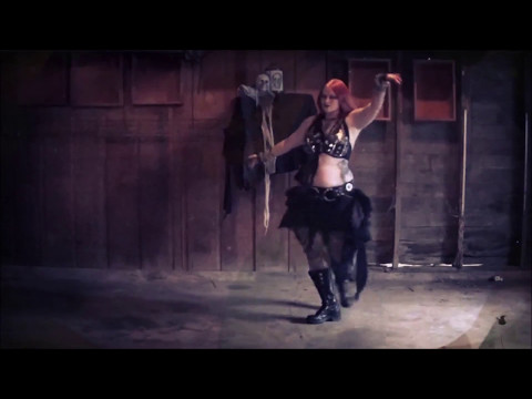 Dirthouse - Static X Improv Solo by Shyama - Stygian Sisters Metal Belly Dance