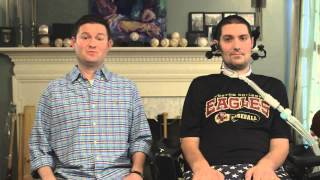 A special message from Pete Frates and Pat Quinn