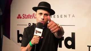 "Nicky Jam confiesa ser muy ""travieso"" durante los Latin Billboard Conference & Awards"