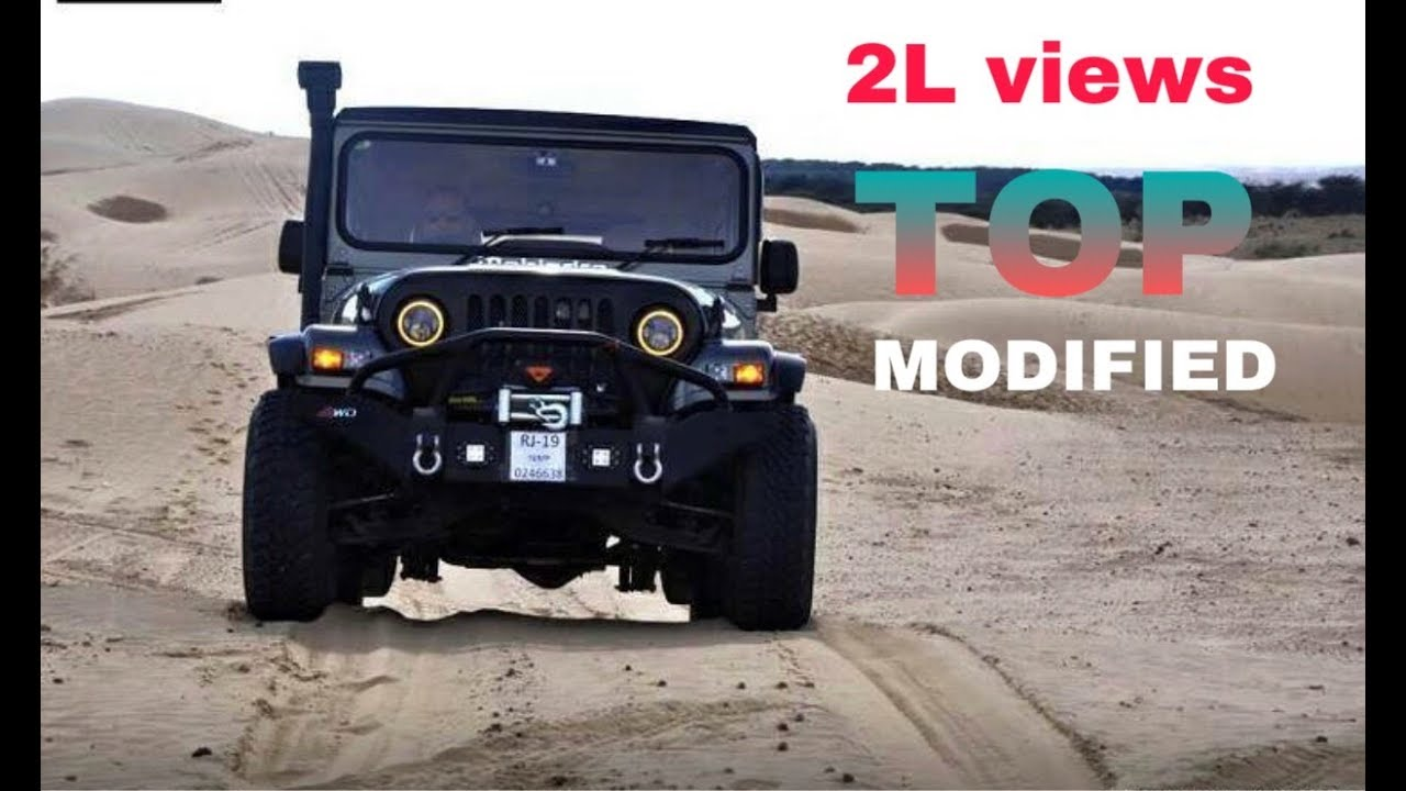 Modified Mahindra Thar 2018 Youtube