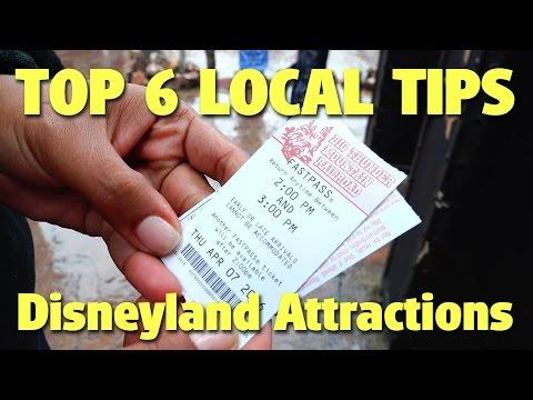 Top 6 Local Tips for Experiencing Disneyland Attractions | Celebrating Disneyland