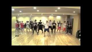 Psy Gangnam style dance practice