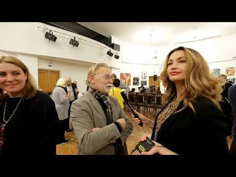 Александр Ситников о выставке Натальи Зинченко в ЦДРИ