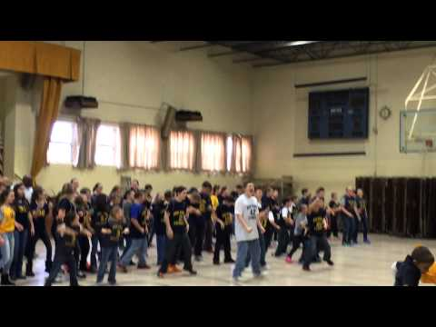 Mon Yough Catholic School Pep Rally Finale Jan 30 2015