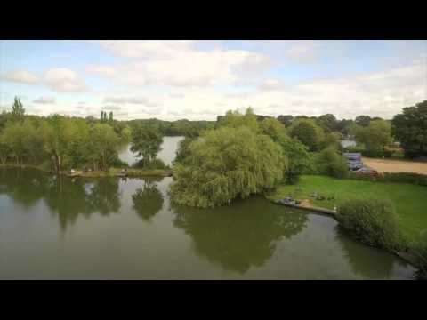 Willow Park Fishery Aerial View HD