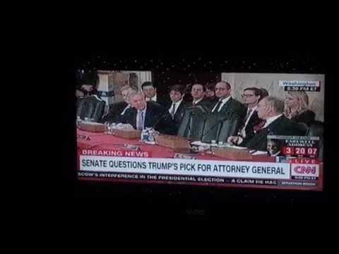Jeff Sessions Admits Getting Racist Award, GOP Senators Back Him