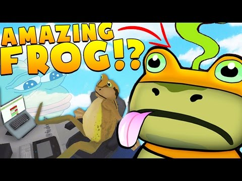 AMAZING FROG IS THE MOST RIDICULOUS GAME I HAVE EVER PLAYED