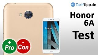 Honor 6A | Test deutsch