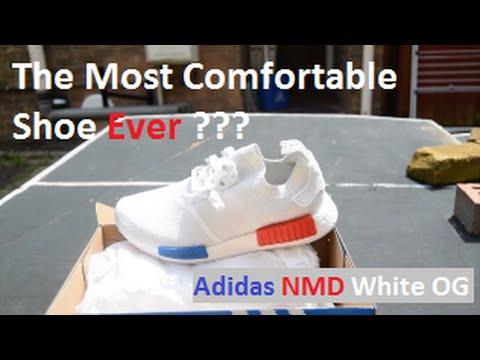 88d6cde607b Adidas NMD R_1 PK PrimeKnit OG VINTAGE white -REVIEW