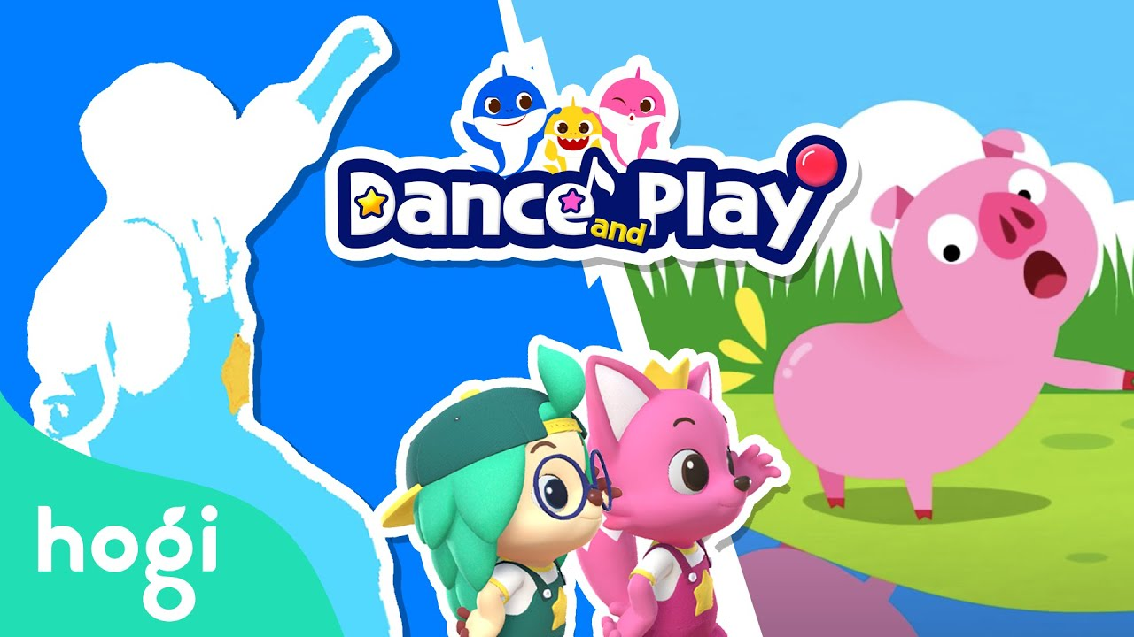 Did You Ever See My Tail Dance and Play with Hogi   Learn Dance Moves Fun   Hogi & Pinkfong