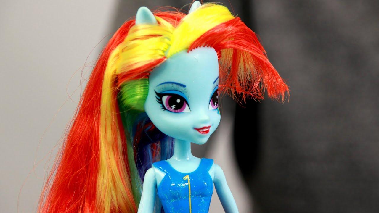 My Litle Pony Equestria Girls Rainbow Dash Dress Up Game