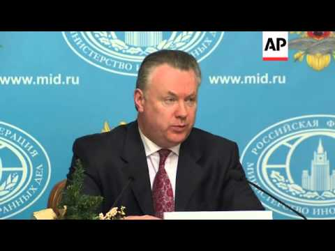 Russia claims Ukraine plan to join NATO won't help them overcome current crisis; Syria