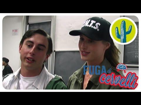 Fuga di Cervelli | Backstage | Olga e Luca si preparano