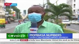 The rise of COVID-19 infections in Mombasa