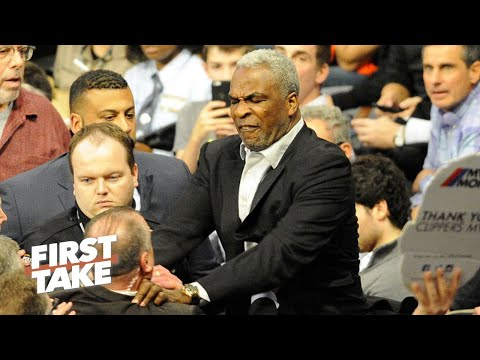 Stephen A. Smith Can't Defend Charles Oakley's Actions | First Take