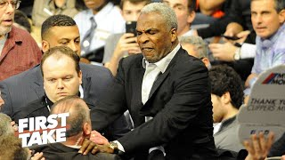 Stephen A. Smith Can't Defend Charles Oakley's Actions | First Take | February 9, 2017